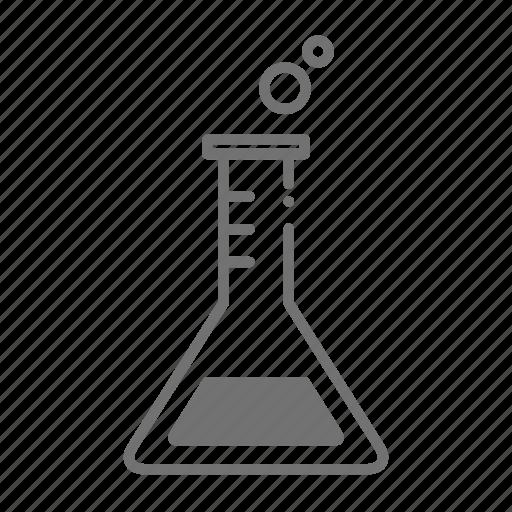 beaker, chemical, chemistry, drugstore, pharmaceutical, pharmacist, prescription icon