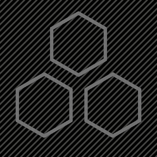 atoms, biology, chemistry, molecules, pharmaceutical, pharmacist, prescription icon