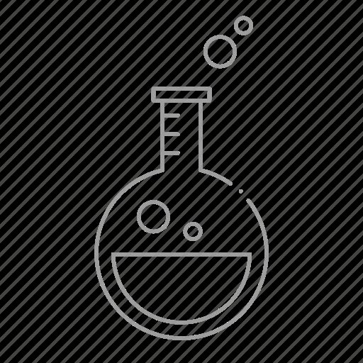 beaker, chemicals, chemistry, drugstore, pharmaceutical, pharmacist, prescription icon