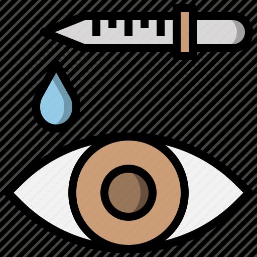 bottle, dosage, dropper, drops, eyedropper, tools, utensils icon