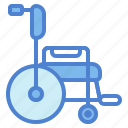 healthcare, illnesst, medical, wheelchair icon