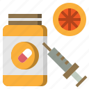 healthcare, medical, supplement, vitamins icon