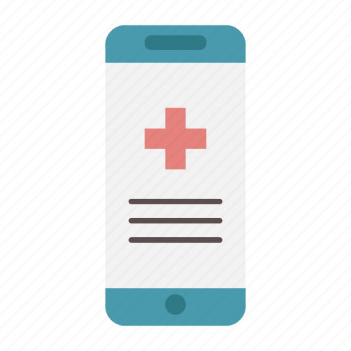 app, appointment, health insurance, medical, online, phone, prescription icon