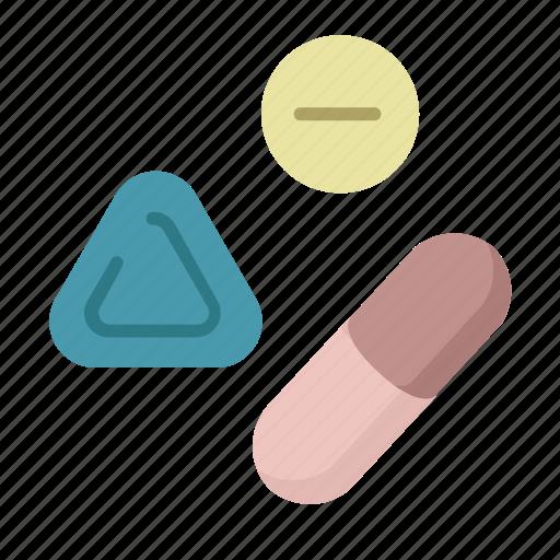 capsule, medicine, pills, prescription, rx, viagra icon
