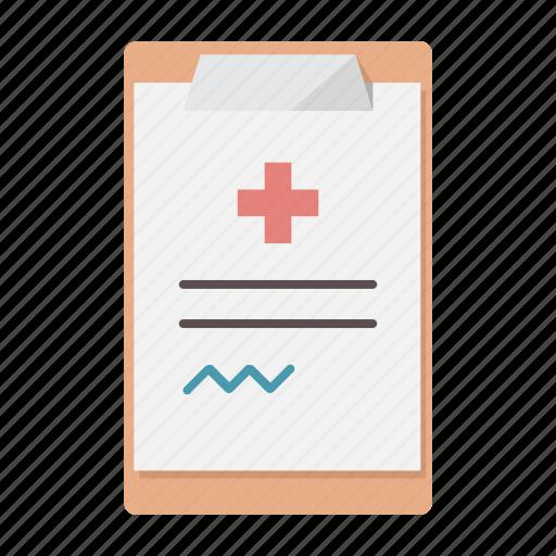 clipboard, medical, prescription, rx, signature icon