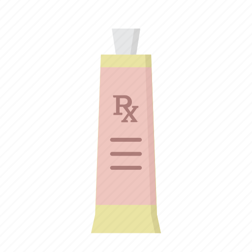 arthritis rub, eczema, ointment, retinol, salve, skin care, tube icon