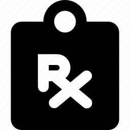 clipboard, prescription icon