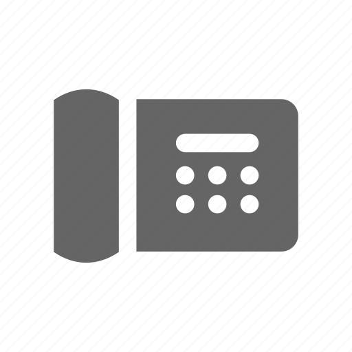 call, chat, communication, connection, fax, internet, phone, telephone icon