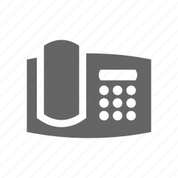 call, communication, fax, phone, telephone icon