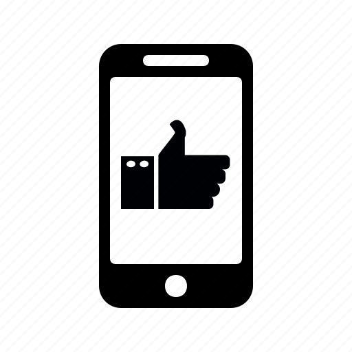 chatting, phone, thumb, yes icon