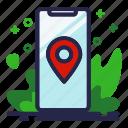 location, phone, pin, smartphone