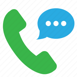 call, chat, conversation, message, phone call icon