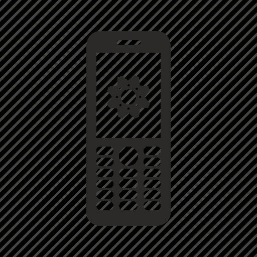 configuration, finland, mobile, nokia, phone, settings icon