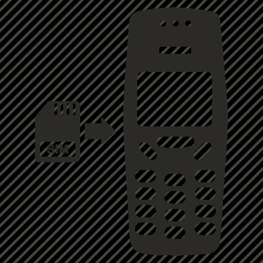 card, finland, mobile, nokia, phone, sim icon