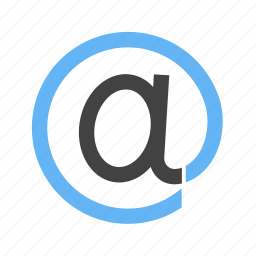 address, correspondence, email, internet, mail, website icon