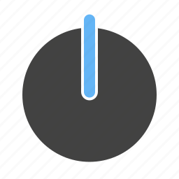circle, off, power, power off, start, switch icon