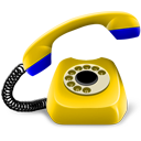phone, yellow icon