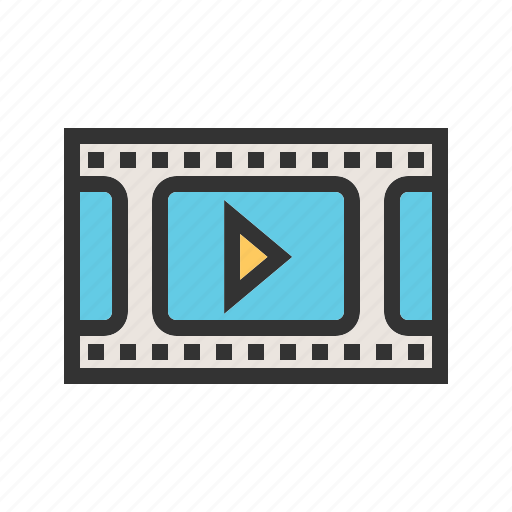 Media, movie, music, play, player, sound, video icon - Download on Iconfinder