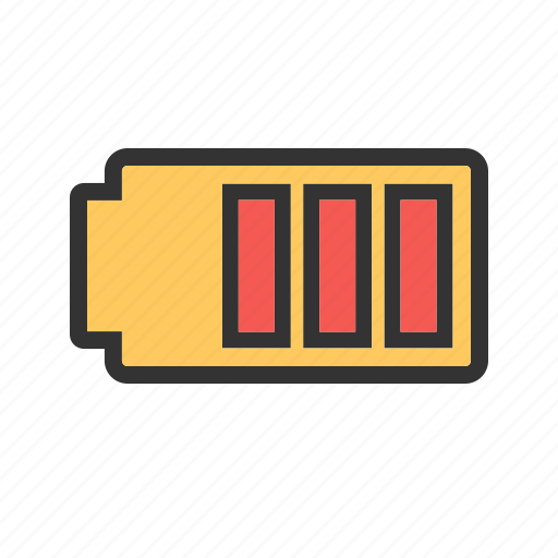 battery, charged, energy, mobile, power icon