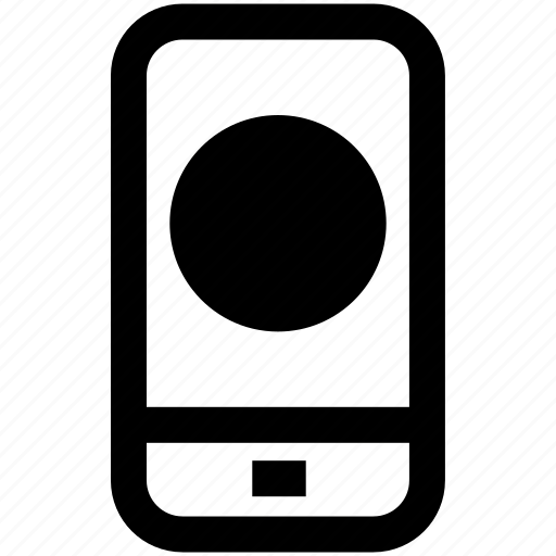 active, circle, mobile, phone, site, web icon