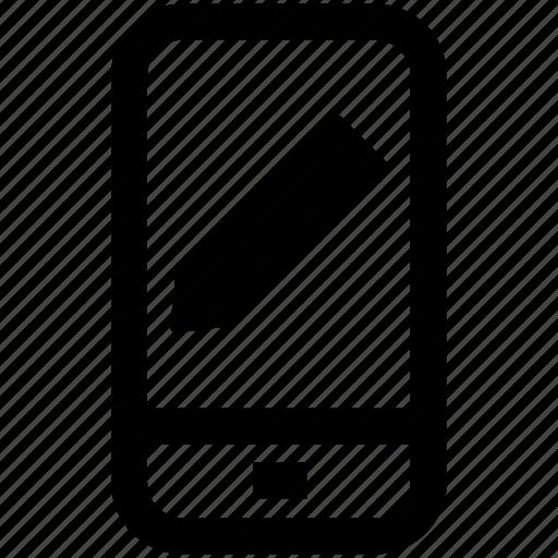 edit, mobile, phone, site, web, write icon