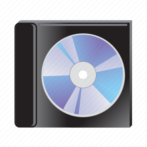 cd, disc, disk, dvd, storage icon