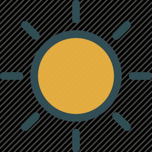 brightness, day, effect, light, options icon