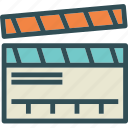 clip, cut, film, movie, video icon