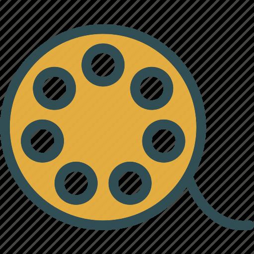 clip, film, movie, negative, video icon