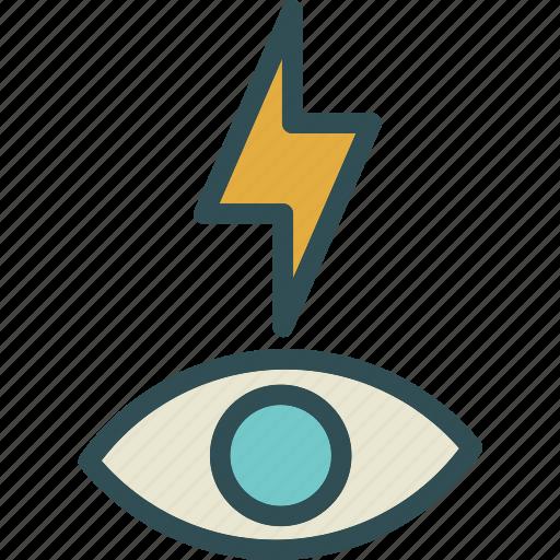 effect, light, redeyeflash icon