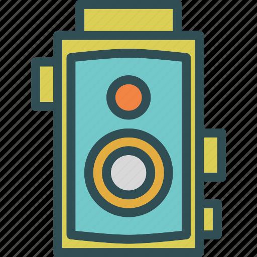 camera, device, photography, photoshoot, video, vintage icon