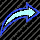 editor, graphic, photo, redo, software icon