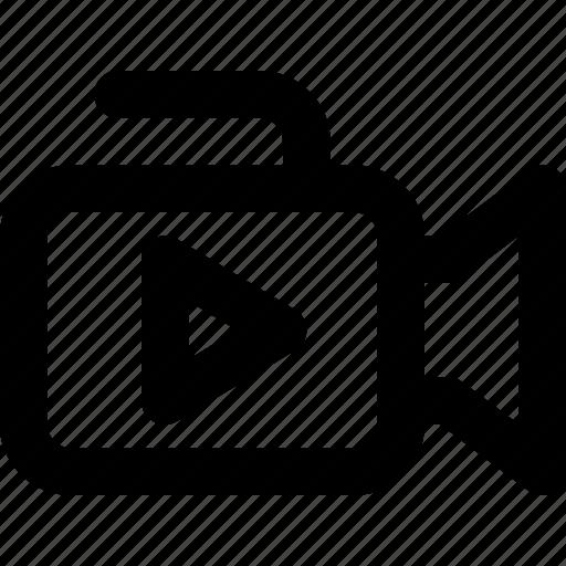 camera, video, youtube icon