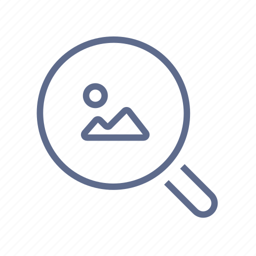 Find, look, loupe, magnifier, quest, scan, search icon - Download on Iconfinder