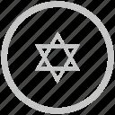 border, circle, israel, religion
