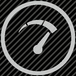 border, circle, measure, oil, speed icon