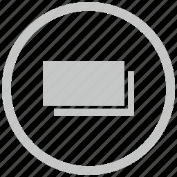 border, cash, circle, money icon