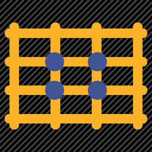 crop, edit, grid, image, photo, rule icon