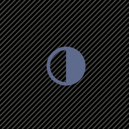 balance, contrast, grade, gradient, offset, relief, setoff icon