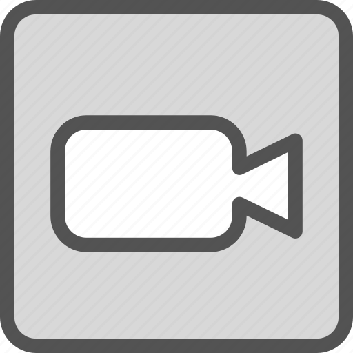 camera, device, photography, photoshoot, square, video icon
