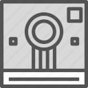 camera, device, instant, photography, photoshoot icon