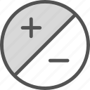 decrease, edit, focus, increase, zoom icon