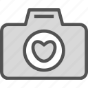 camera, device, heart, photography, photoshoot