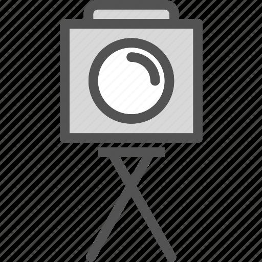 camera, photography, photoshoot, tripod icon
