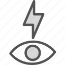 effect, light, redeyeflash icon