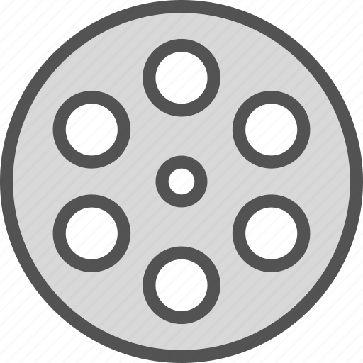 clip, film, negativemovie, video icon