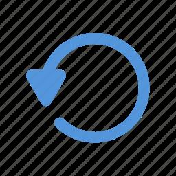 business, internet, media, photo, social, undo, upload icon