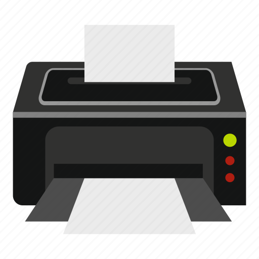 computer, document, internet, modern, print, printer, technology icon
