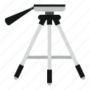 lamp, light, show, spot, stage, studio, tripod icon