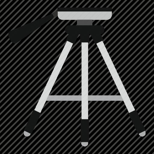 lamp, light, show, spot, stage, studio, tripod icon